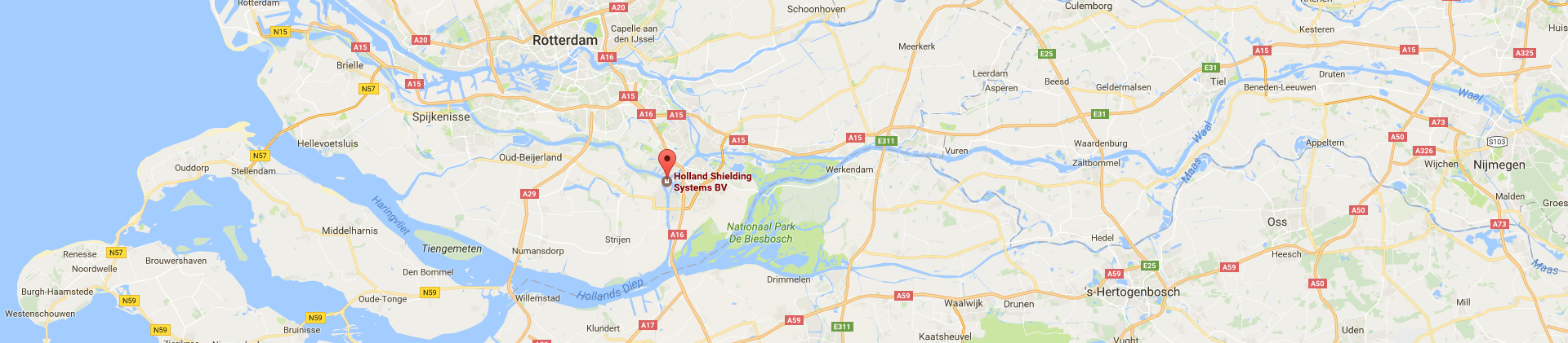 Location of Holland Shielding Systems B.V. on map