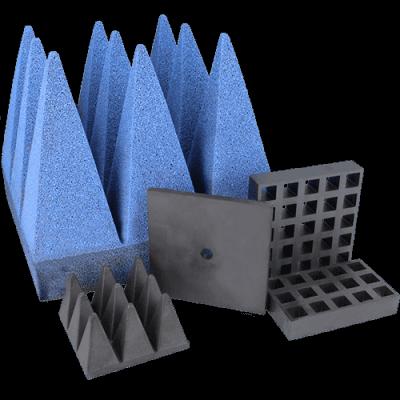 EMI ve RFID emiciler, ferritler ve piramitler