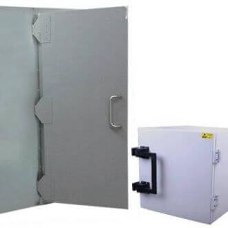 Faraday kafesler, standart ve ısmarlama EMI korumalı test kutuları