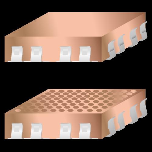 Klipsli PCB ekranlama sistemi