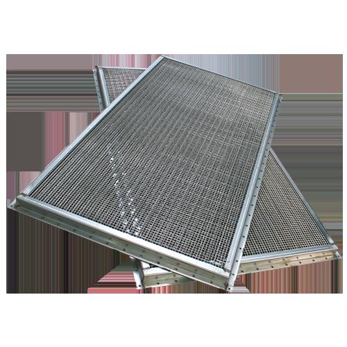 Faraday kafesleri icin EMP havalandirma panelleri