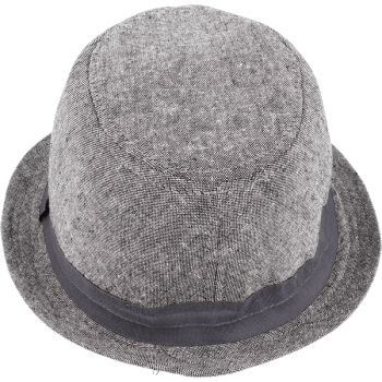 Shielded hat (light gray color)