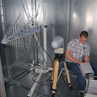 Faraday kafesleri ve kaplamaları üzerinde ölçümler