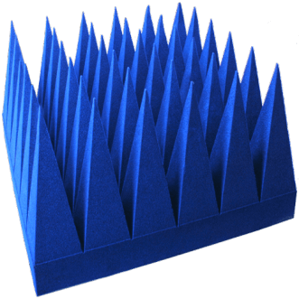 Geniş bant melez piramidal emiciler