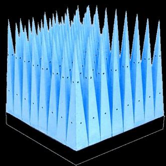 yüksek güçlü mikro gözenekli piramit emiciler