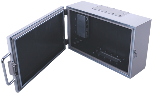 Medium performace shielded box type 2 inside view